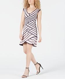 eecb511f2b2bf GUESS Flounce Bandage Bodycon Dress