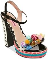4838064d185 Betsey Johnson Polka Dress Sandals