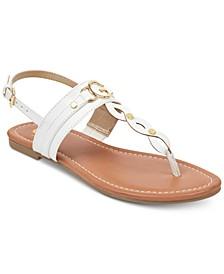Links Flat Sandals