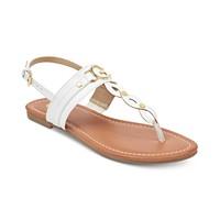 GUESS Links Flat Sandals