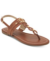 904f8b974c3c6 G by GUESS Links Flat Sandals