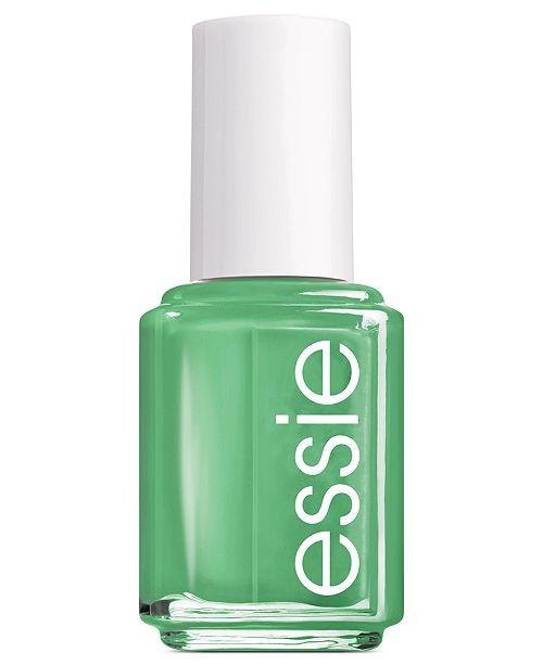 Essie nail color, mojito madness