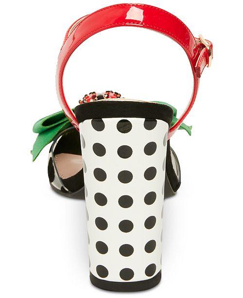 6bb4f3842825e2 Betsey Johnson Bini Dress Sandals   Reviews - Sandals   Flip Flops ...