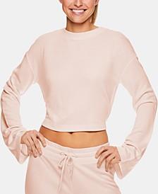 X Jessica Biel Melrose Cropped Sweatshirt