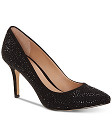 I.N.C. Women's Zitah Rhinestone Pointed Toe Pumps, Created for Macy's