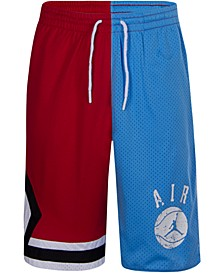 Little Boys Triangle Graphic Shorts