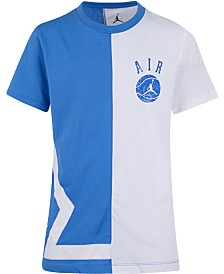 Jordan Little Boys Split Game Cotton T-Shirt
