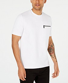 Men's Ribbed Zip-Pocket Shirt