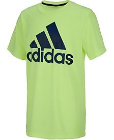 adidas Big Boys Fusion Logo T-Shirt