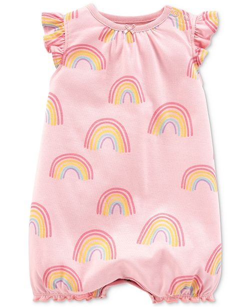 Carter's Baby Girls Cotton Romper