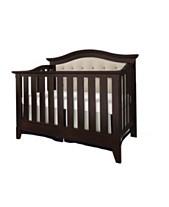 1d17786b4d5 Magnolia 4-in-1 Convertible Upholstered Crib- Espresso