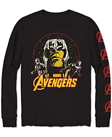 Long-Sleeve Avengers Men's Graphic T-Shirt