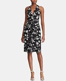 Lauren Ralph Lauren Floral-Print Halter Dress
