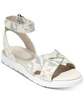97bf7e946cb8 Cole Haan Zerogrand Crisscross Sandals