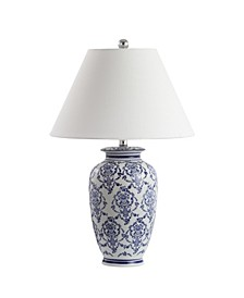 Juliana Chinoiserie Ceramic LED Table Lamp
