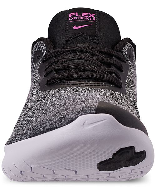 43a1fd1104a8 ... Nike Women s Flex Experience Run 8 Wide Width Running Sneakers from  Finish ...