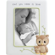Precious Moments Owl You Need Is Love 4 x 6 Resin Photo Frame 183403