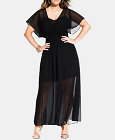 City Chic Trendy Plus Size Spirited Maxi Dress