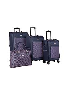 Soho 4 Piece Spinner Luggage Set
