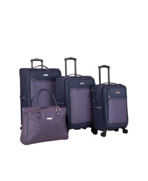 Isaac Mizrahi Soho 4 Piece Spinner Luggage Set