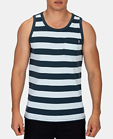 Hurley Men's Harvey Dri-FIT Stripe Pocket Tank