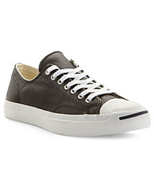 Converse Shoes, Men's Jack Purcell Leather Oxford Sneakers from Finish Line