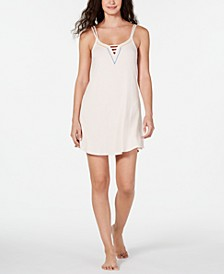 Ladder Front Scoop-Neck Chemise, Created for Macy's