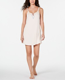 Jenni Ladder Front Scoop-Neck Chemise, Created for Macy's