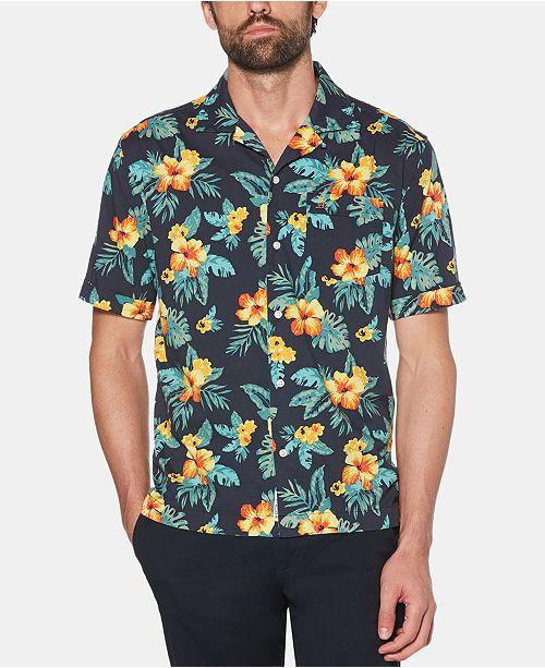 Original Penguin Men's Floral Graphic Shirt