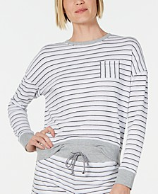 Ultra Soft Crewneck Pajama Top, Created for Macy's