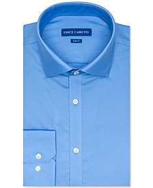 Men's Slim-Fit Dobby Dress Shirt
