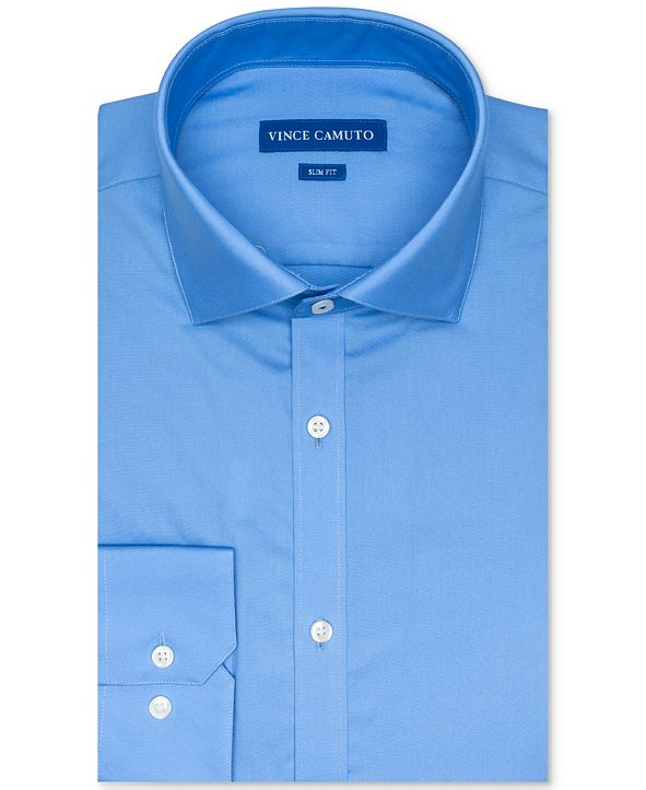 Vince Camuto Men's Slim-Fit Dobby Dress Shirt