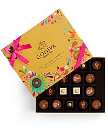 Godiva Chocolatier 18-Pc. Chocolate Festival Gold Collection Gift Box