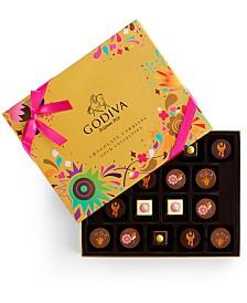 Godiva Chocolatier 18-Pc. Chocolate Festival Gold Collection Gift Box