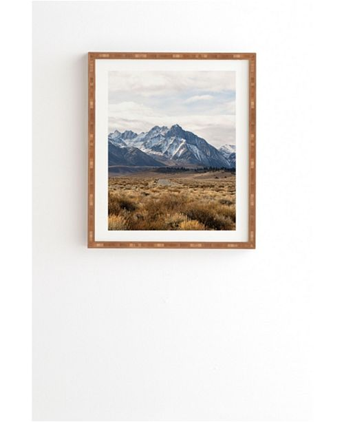 Deny Designs Road Less Traveled Framed Wall Art