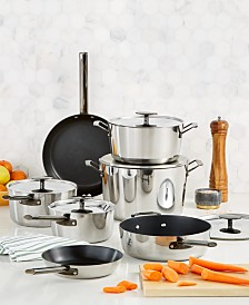 Hotel Collection 12-Pc. Performance Tri-Ply Nonstick Cookware Set, Created for Macy's