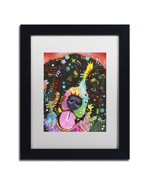 """Trademark Global Dean Russo 'Saint' Matted Framed Art - 11"""" x 14"""" x 0.5"""""""