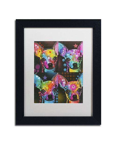 """Trademark Global Dean Russo '11' Matted Framed Art - 11"""" x 14"""" x 0.5"""""""