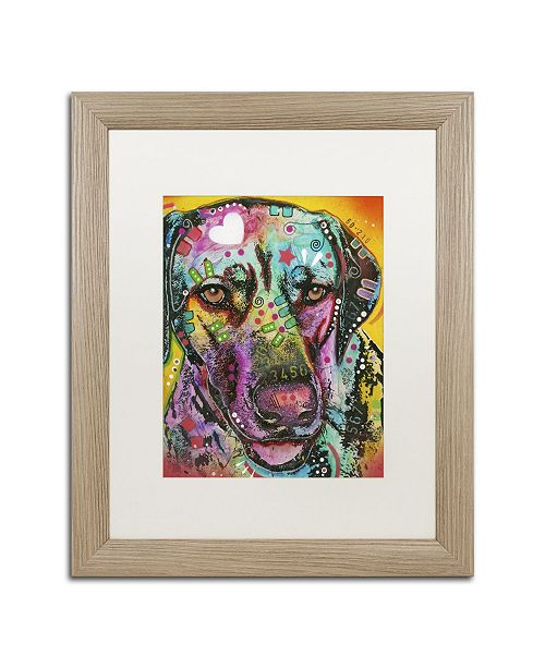 "Trademark Global Dean Russo '16' Matted Framed Art - 20"" x 16"" x 0.5"""
