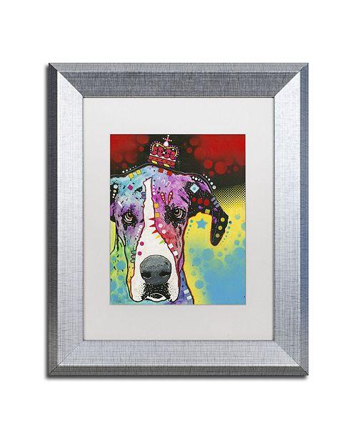 """Trademark Global Dean Russo '22' Matted Framed Art - 14"""" x 11"""" x 0.5"""""""