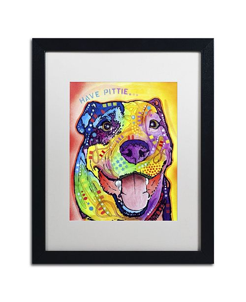"""Trademark Global Dean Russo 'Have Pittie' Matted Framed Art - 16"""" x 20"""" x 0.5"""""""