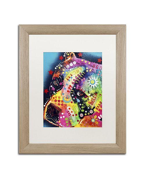 """Trademark Global Dean Russo 'Bella' Matted Framed Art - 20"""" x 16"""" x 0.5"""""""