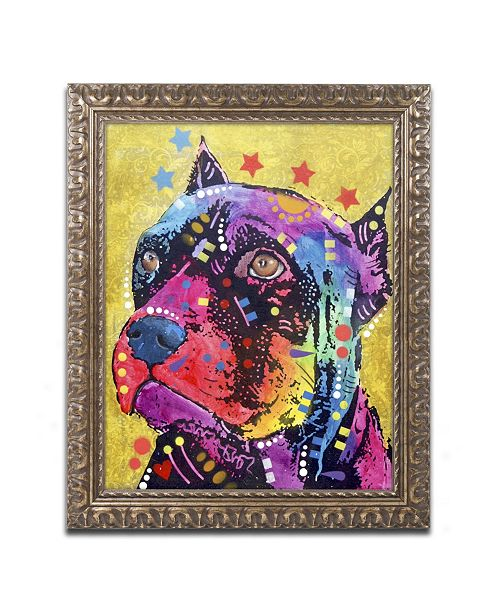 "Trademark Global Dean Russo 'Bri 1' Ornate Framed Art - 20"" x 16"" x 0.5"""