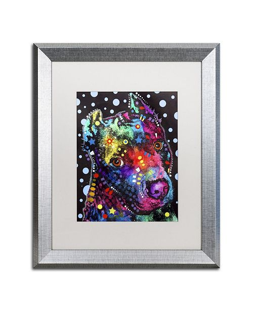 """Trademark Global Dean Russo 'Companion PIT' Matted Framed Art - 20"""" x 16"""" x 0.5"""""""