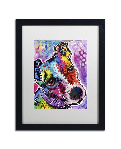 "Trademark Global Dean Russo 'Dreamy Jack' Matted Framed Art - 16"" x 20"" x 0.5"""