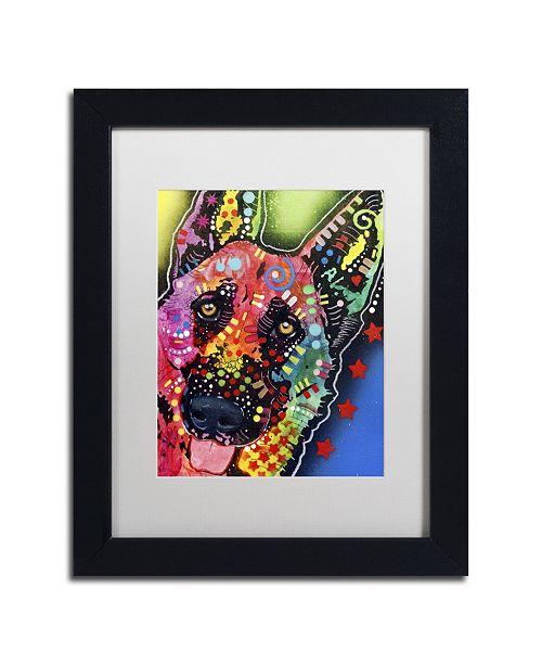 """Trademark Global Dean Russo 'Jackson' Matted Framed Art - 11"""" x 14"""" x 0.5"""""""