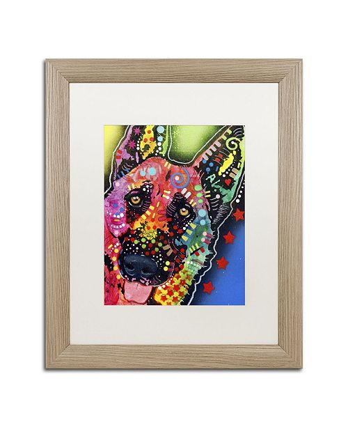 "Trademark Global Dean Russo 'Jackson' Matted Framed Art - 20"" x 16"" x 0.5"""