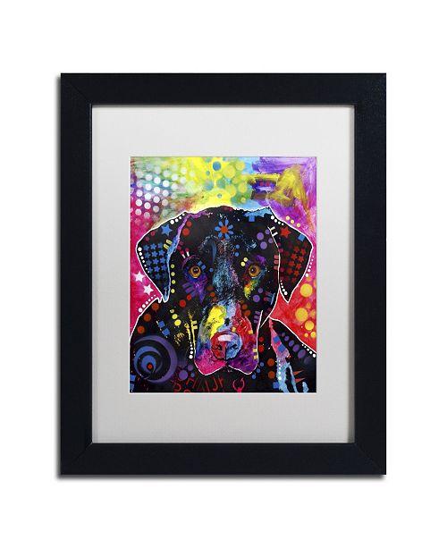 "Trademark Global Dean Russo 'The Labrador' Matted Framed Art - 11"" x 14"" x 0.5"""