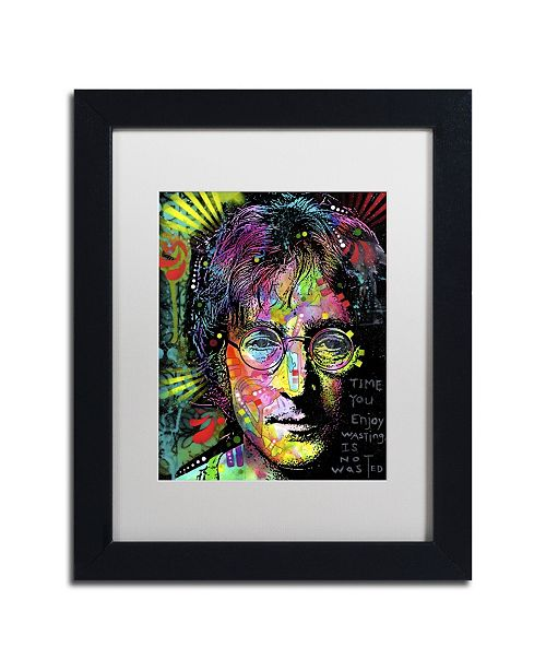"Trademark Global Dean Russo 'Lennon Front' Matted Framed Art - 11"" x 14"" x 0.5"""