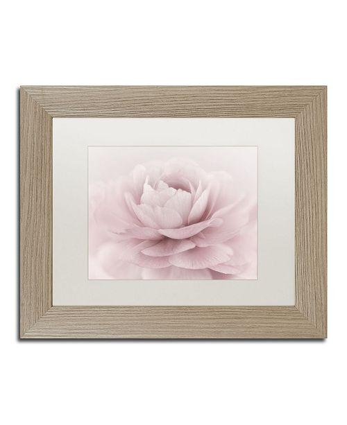 "Trademark Global Cora Niele 'Stylisch Rose Pink' Matted Framed Art - 14"" x 11"" x 0.5"""